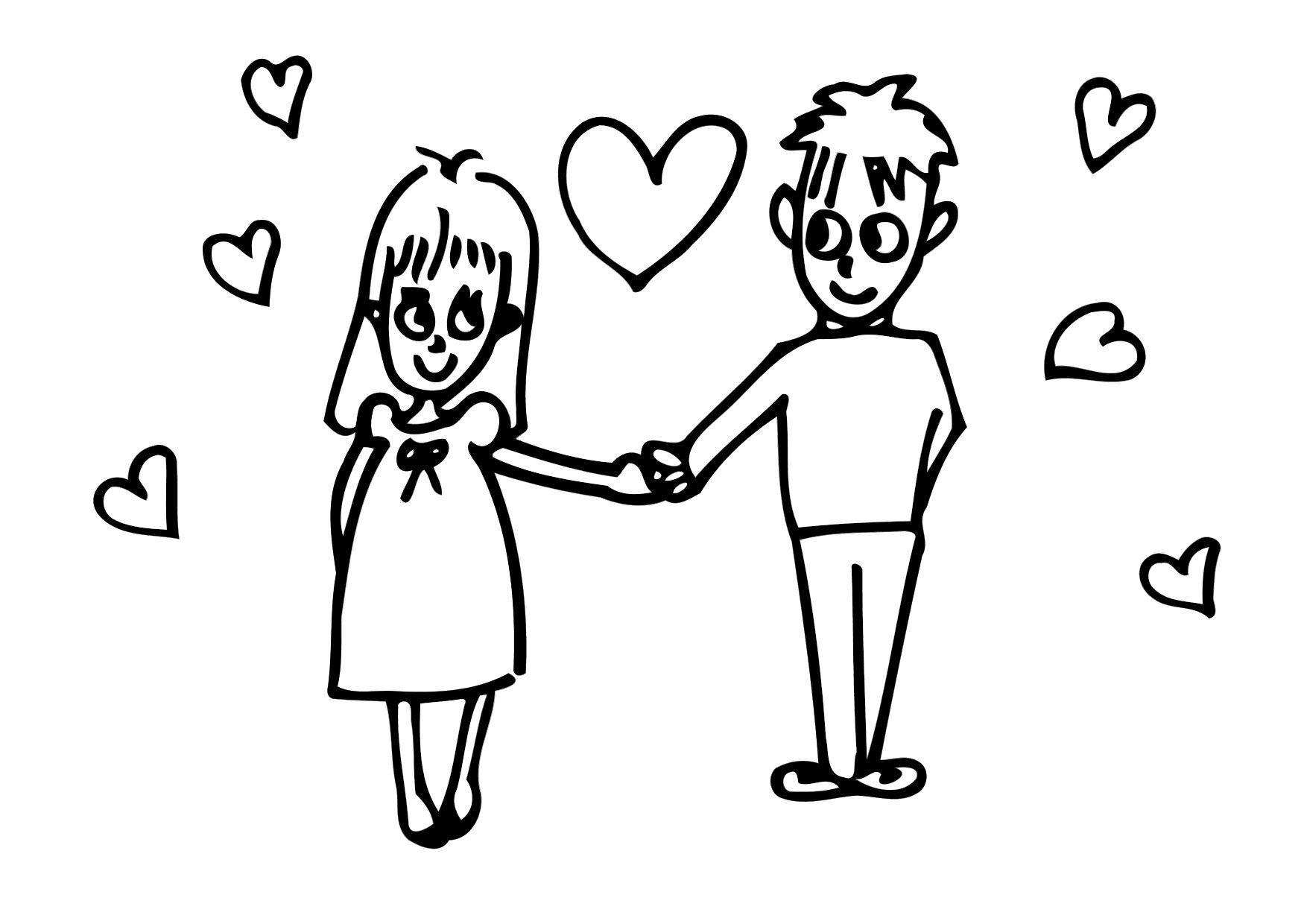 Malvorlagen Liebeskummer