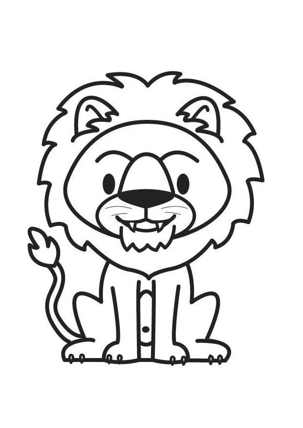 Malvorlage Löwe - Kostenlose Ausmalbilder Zum Ausdrucken
