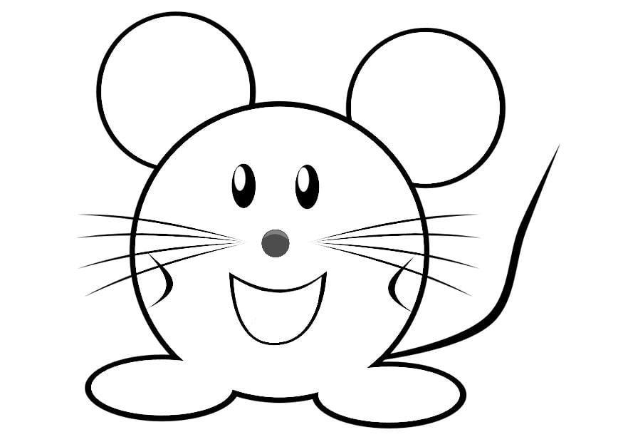 Malvorlage Maus - Kostenlose Ausmalbilder Zum Ausdrucken