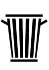 Malvorlage Müllwagen Ausmalbild 6048