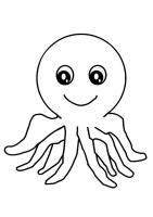Malvorlage Oktopus   Kostenlose Ausmalbilder Zum ...