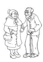 Gratis Malvorlagen Oma Und Opa   x13 ein Bild zeichnen