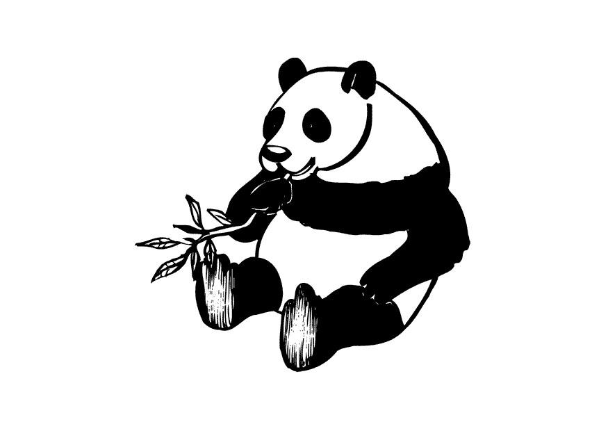 Malvorlage Panda Ausmalbild 10434