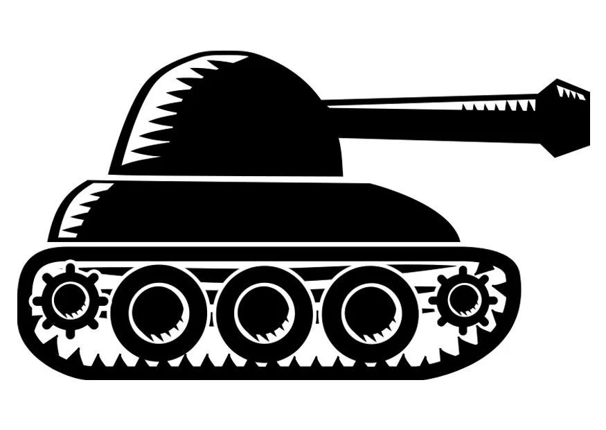 Panzer Malvorlage