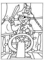 Malvorlage Pirat   Kostenlose Ausmalbilder Zum Ausdrucken ...