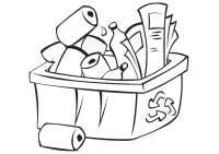 Malvorlagen Umwelt Malvorlage Recyclen