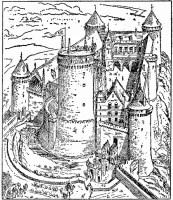 Malvorlage Schloss in Coucy   Kostenlose Ausmalbilder Zum ...