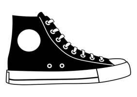 Malvorlage Schuh   Ausmalbild 27155.