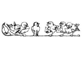 Malvorlage Singvögel   Kostenlose Ausmalbilder Zum ...