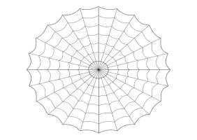 Malvorlage Spinnennetz   Kostenlose Ausmalbilder Zum ...