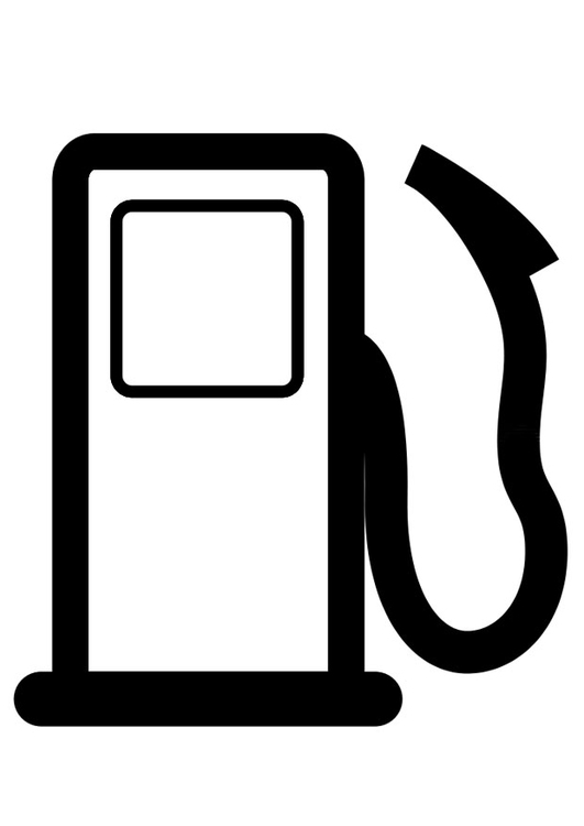 Tankstelle Malvorlage