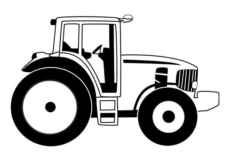 Malvorlage Traktor Ausmalbild 29531