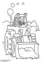 Malvorlage Traktor   Kostenlose Ausmalbilder Zum ...