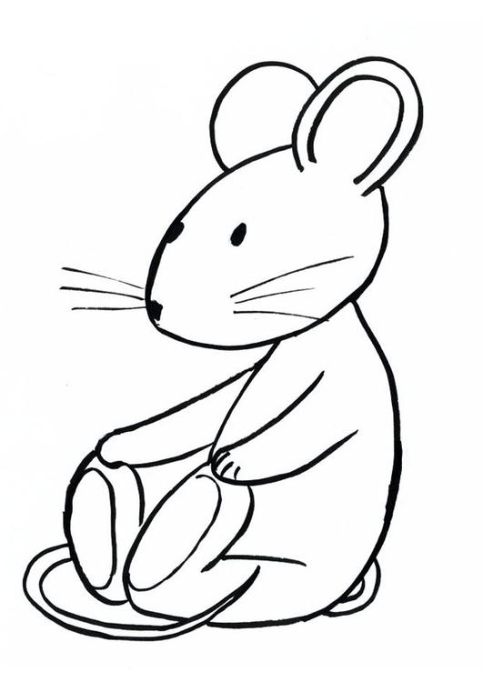 Malvorlage Transi die Maus - Kostenlose Ausmalbilder Zum
