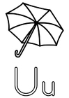 Malvorlage Regenschirm Ausmalbild 19061