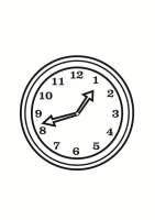 Malvorlage Uhr   Kostenlose Ausmalbilder Zum Ausdrucken ...