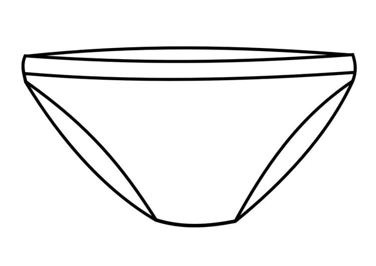 Malvorlage Unterhose - Kostenlose Ausmalbilder Zum