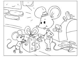 Malvorlage Vatertag   Mäuse   Kostenlose Ausmalbilder Zum ...