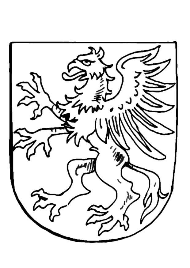 Malvorlage Wappen Ausmalbild 9081
