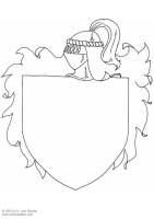 Malvorlage Wappenschild   Kostenlose Ausmalbilder Zum ...