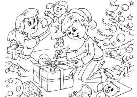 Malvorlage Weihnachten   Kostenlose Ausmalbilder Zum ...