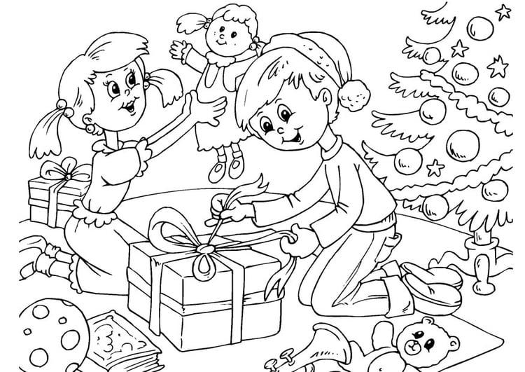 Malvorlage Weihnachten Ausmalbild 23058