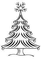 Malvorlage Weihnachtsbaum   Kostenlose Ausmalbilder Zum ...