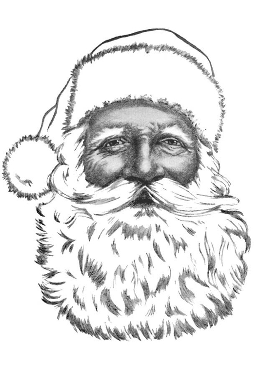 Malvorlage Weihnachtsmann Ausmalbild 9147