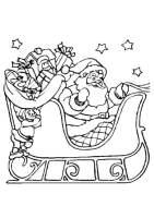 Malvorlage Weihnachtsschlitten   Kostenlose Ausmalbilder ...