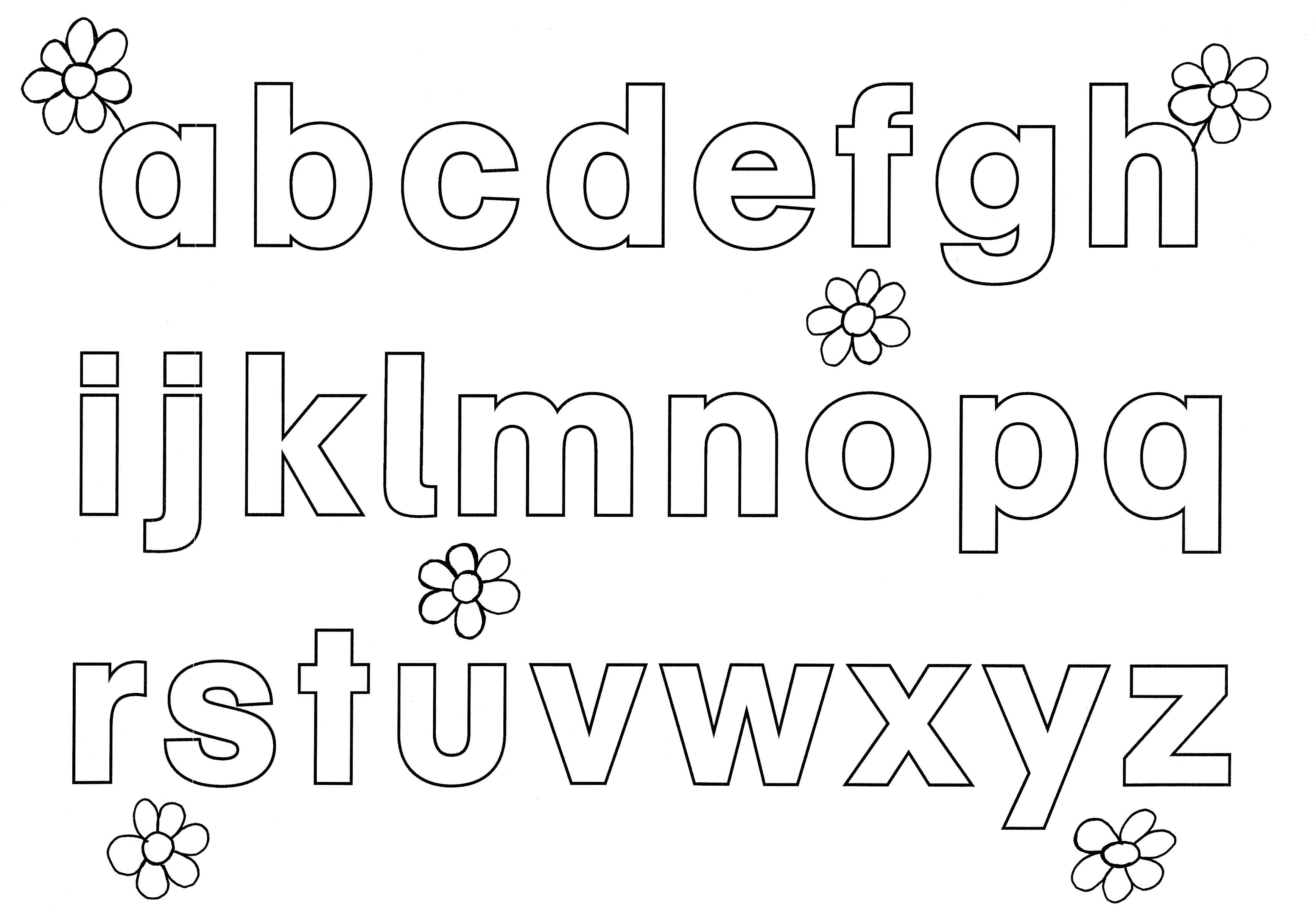 Malvorlagen Alphabet Ausdrucken