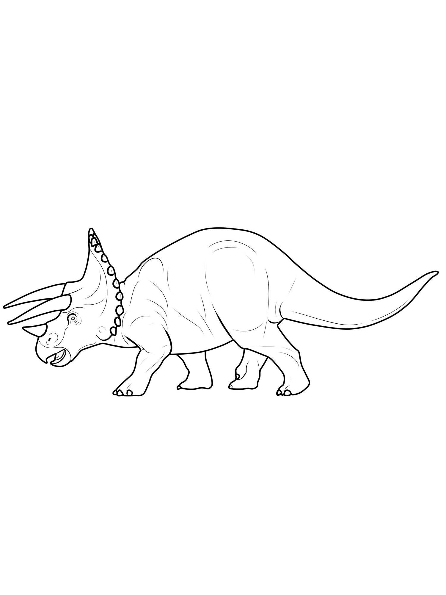 Ausmalbilder Zum Ausdrucken Dinosaurier