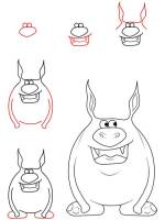 Kostenlose Malvorlage Halloween Monster zeichnen und ...