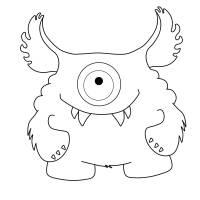 Ausmalbilder Von Monster   Top Kostenlos Färbung Seite ...