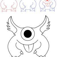 Ausmalbilder Gespenster Monster   Top Kostenlos Färbung ...