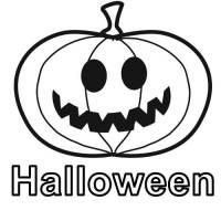 Kostenlose Malvorlage Halloween Kürbis zum Ausmalen zum ...