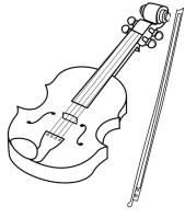 Musikinstrumente Zum Ausmalen