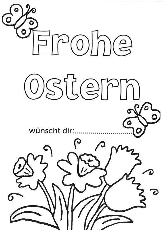 Frohe Ostern Malvorlagen - Malvorlagen Gratis