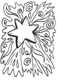 malvorlagen schneeflocken sterne