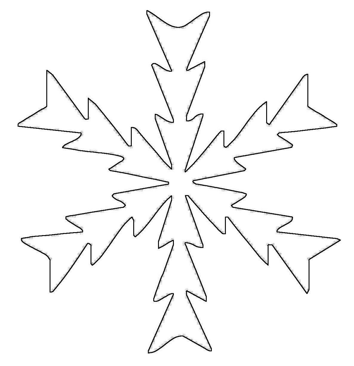 Niedlich Schneeflocken Schneiden Vorlagen Aus Ideen - Entry Level ...