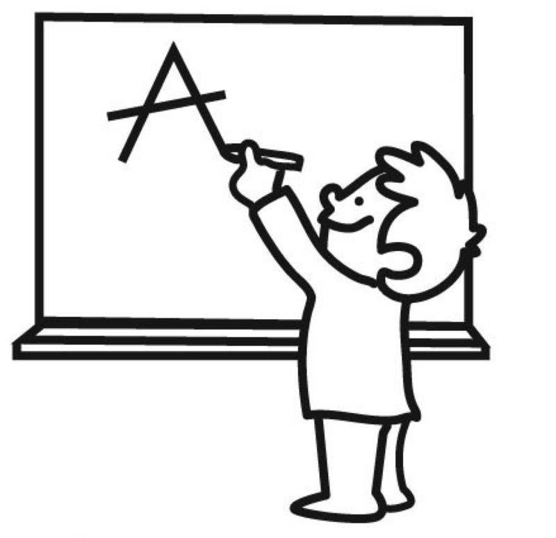Kostenlose Ausmalbilder und Malvorlagen Schule zum