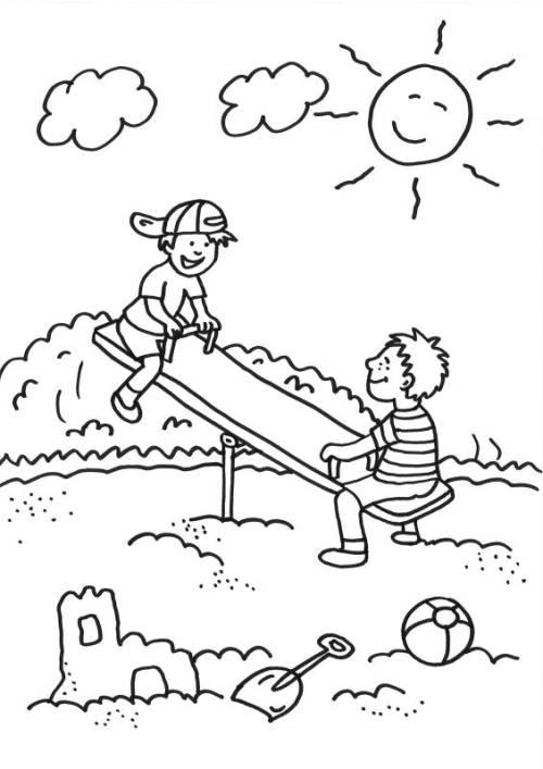 Malvorlagen Kinder Fruhling - Malbild