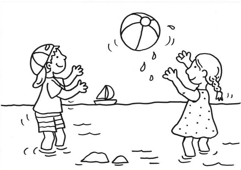 Kostenlose Malvorlage Sommer Krabbe Zum Ausmalen