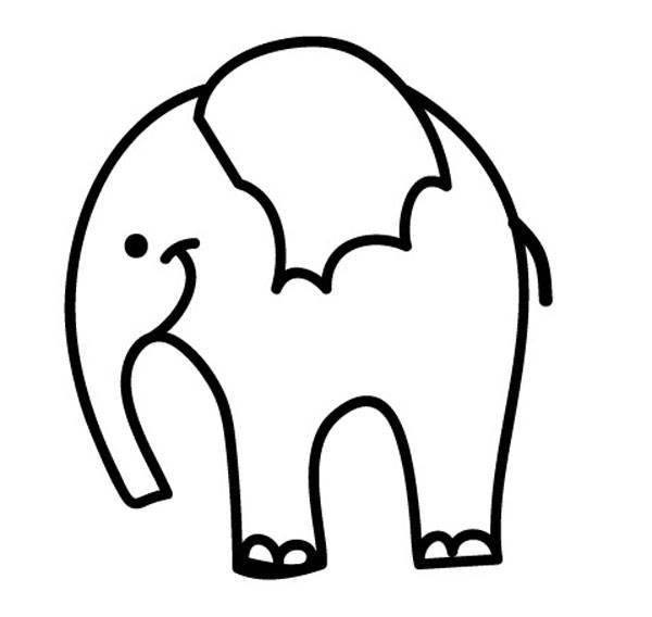 Elefanten malvorlagen zum ausdrucken Coloring and
