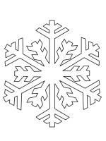 Ausmalbild Schneeflocken und Sterne Schneeflocke ausmalen ...