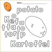 Kartoffel Bilder Zum Ausdrucken