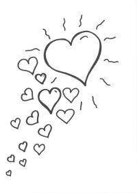Ausmalbilder Blumen Herzen Malvorlagen Herzen Elegant