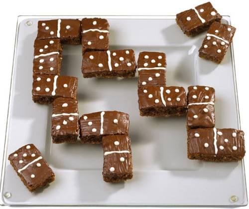 Rezepte fr Kinder  Kuchen und Torten DominoKuchen