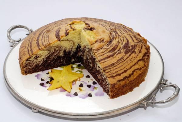 Rezepte fr Kinder  Kuchen und Torten Zebrakuchen
