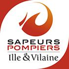 portfolio à Caen et Vire - création du logotype SDIS sapeurs pompiers d'Ille et Vilaine