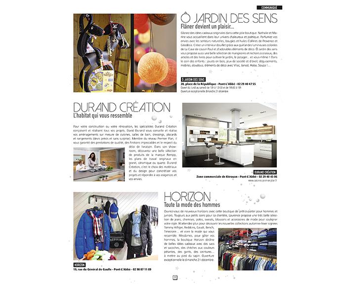 portfolio à Caen et Vire, magazine d'actualités O jardin des sens